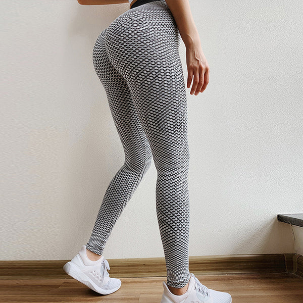 Glamaker High waist bodycon fitness legging Women push up sexy black exercise leggings Fashion sport grey leggings pants ladies