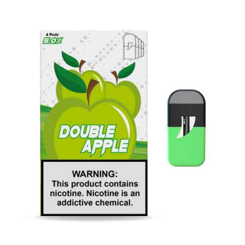 Double Apple vape de manzana verde