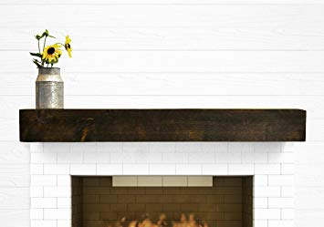 Matt's fireplace mantel