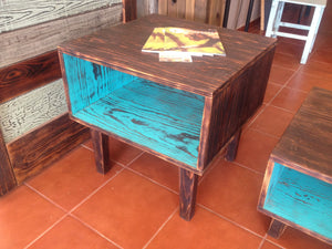 Distressed coffee or end table