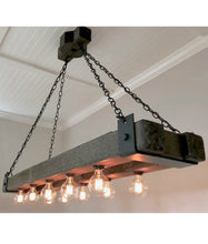 Load image into Gallery viewer, Jen's twin beam chandelier