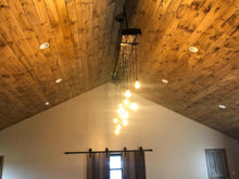 Load image into Gallery viewer, Gary's beam chandelier