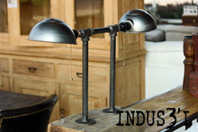 Load image into Gallery viewer, Rustic Industrial Pipe Table Lamp