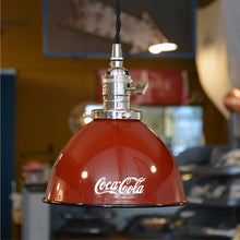Load image into Gallery viewer, Custom made Coca-Cola (Coke) lamps and shades