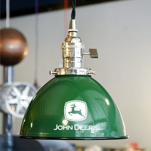 Custom made John Deere lamps and shades