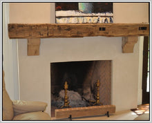 Load image into Gallery viewer, Lisa's fireplace mantel