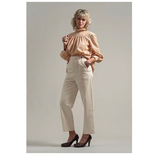 Leonie Blouse - Sunset Beige