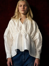 Load image into Gallery viewer, Bloom Silk Blouse - Ivory