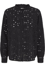 Load image into Gallery viewer, Lindy Lace Shirt - Black