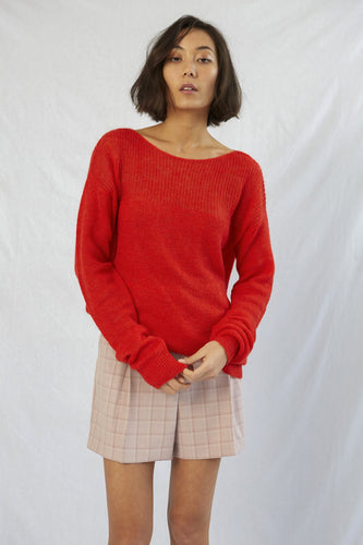 Apartment Sweater - Cherry