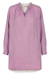 Bonded Cotton Tunic - Lavender