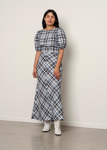 Marianne Dress - Tartan