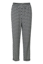 Load image into Gallery viewer, Viscose Stretch Trousers - Green Multi
