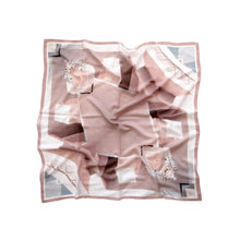Load image into Gallery viewer, Study Pink Neckerchief - 100% Silk Crepe