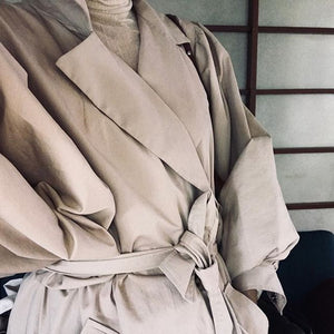Trench - Peached Cotton