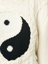 Load image into Gallery viewer, Ying and Yang Sweater - Ivory