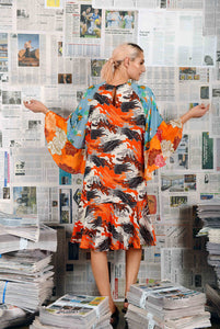 Inquirer Dress- Orange