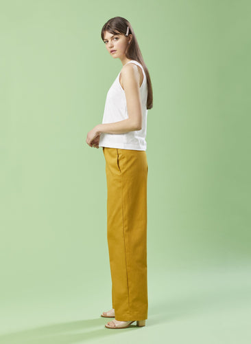 Summer House Mustard Denim Trousers