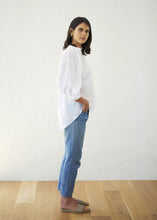 Load image into Gallery viewer, Everyday Blouse - Cotton Voile, White