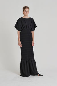 Wave Dress - Black