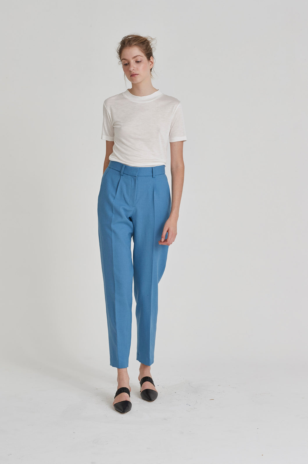Partner Trouser - Light Blue