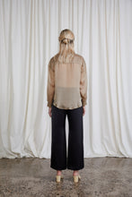 Load image into Gallery viewer, Eleanor Pant - Onyx Silk Satin