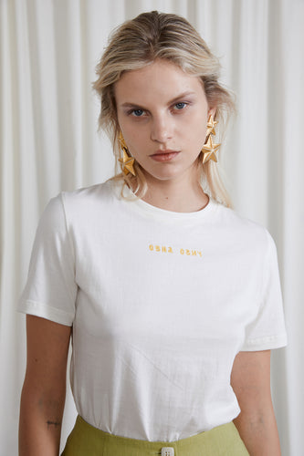 Tova T-Shirt - Undyed Organic Cotton