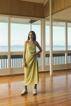 Load image into Gallery viewer, Salute Slip Dress - Celery