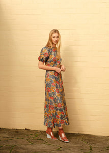 Marianne Dress - Blue Liberty Floral