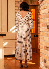 Load image into Gallery viewer, Robin Dress - Ivory Spot