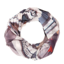 Load image into Gallery viewer, Study 3 - Silk Chiffon Scarf