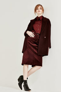 Wayfarer Coat - Bordeaux