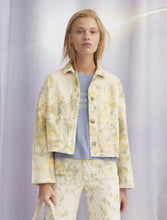 Load image into Gallery viewer, Lu Corduroy Tie-Dye Jacket - Yellow