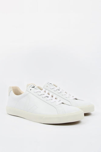 Esplar Low Leather Extra White