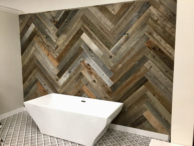 Reclaimed California Redwood Wall Planks