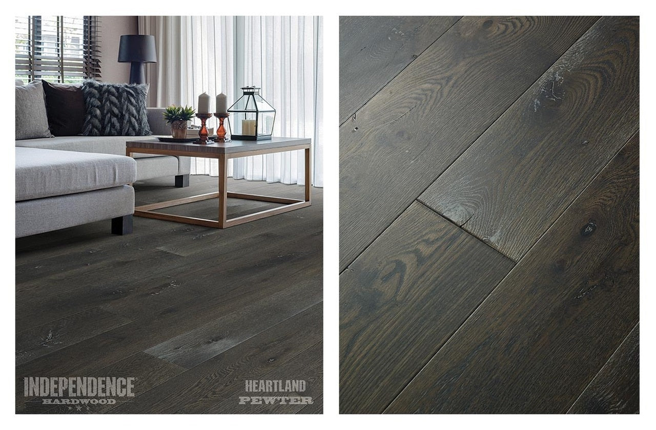 Independence Hardwood Heartland White Oak Pewter