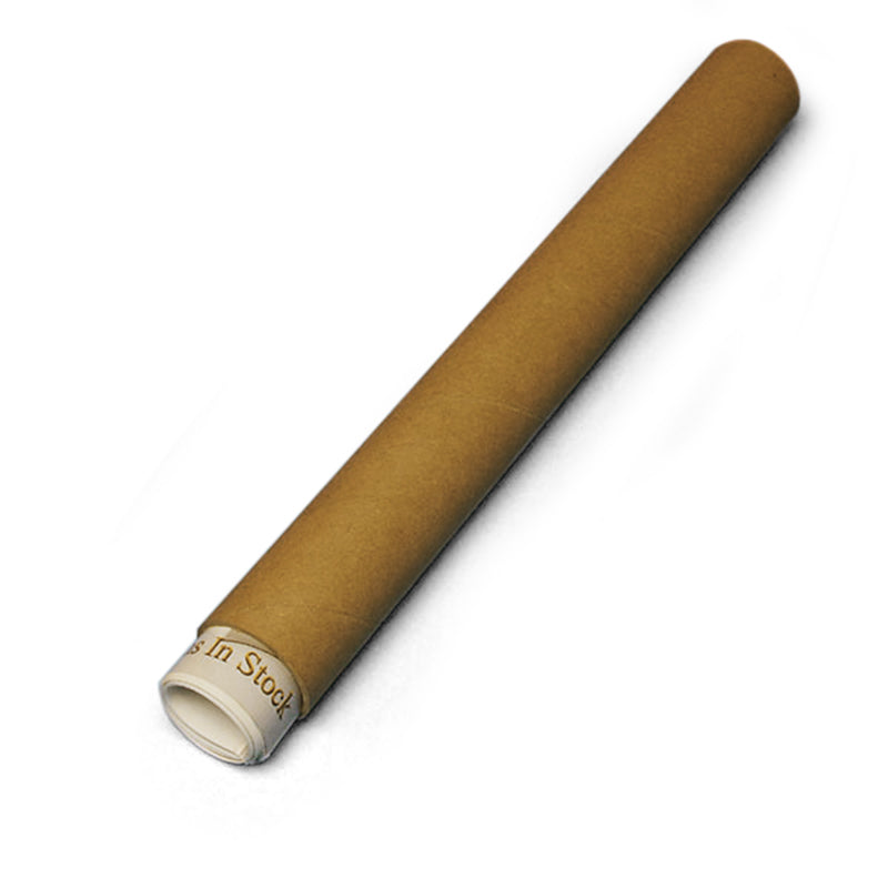 Brown Mailing Tube (Pack of 4)