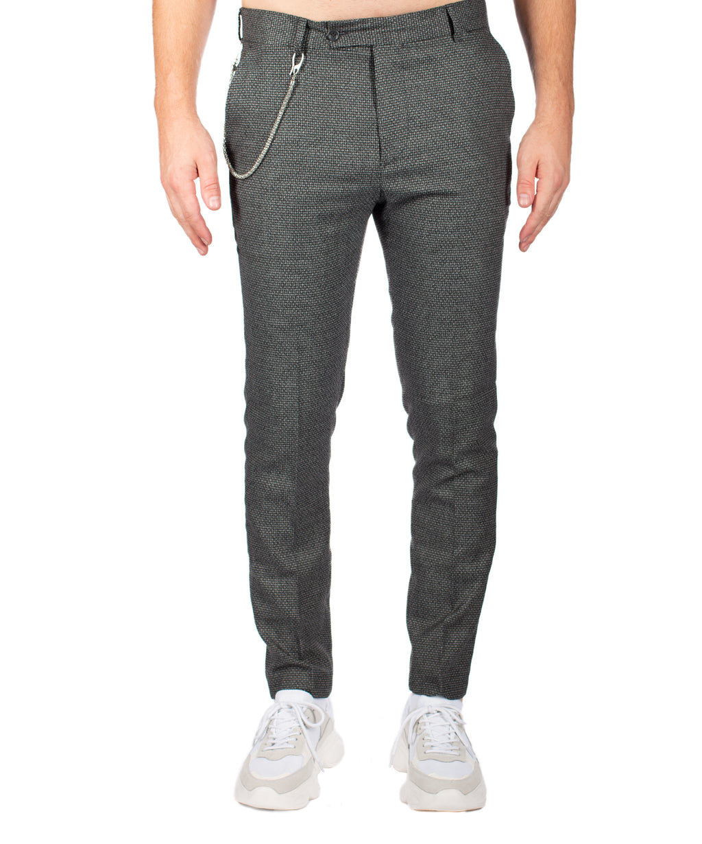 CASUAL PANTS DARK GREY - Vaarora