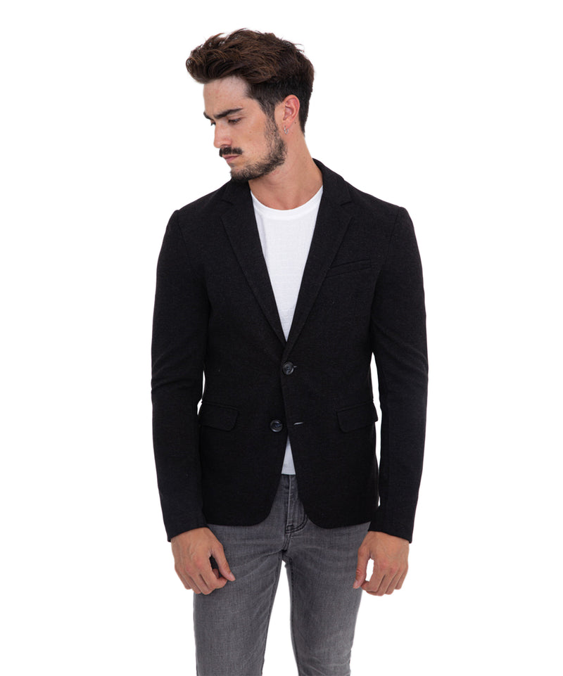 JACKET LEON BLACK - Vaarora