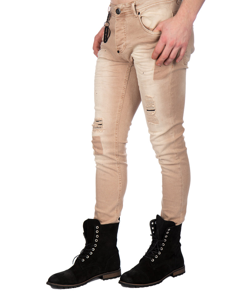 LOUIS JEANS BROWN
