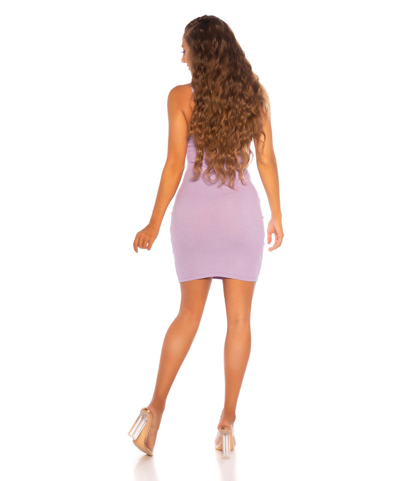 MINI DRESS LILAC - Vaarora
