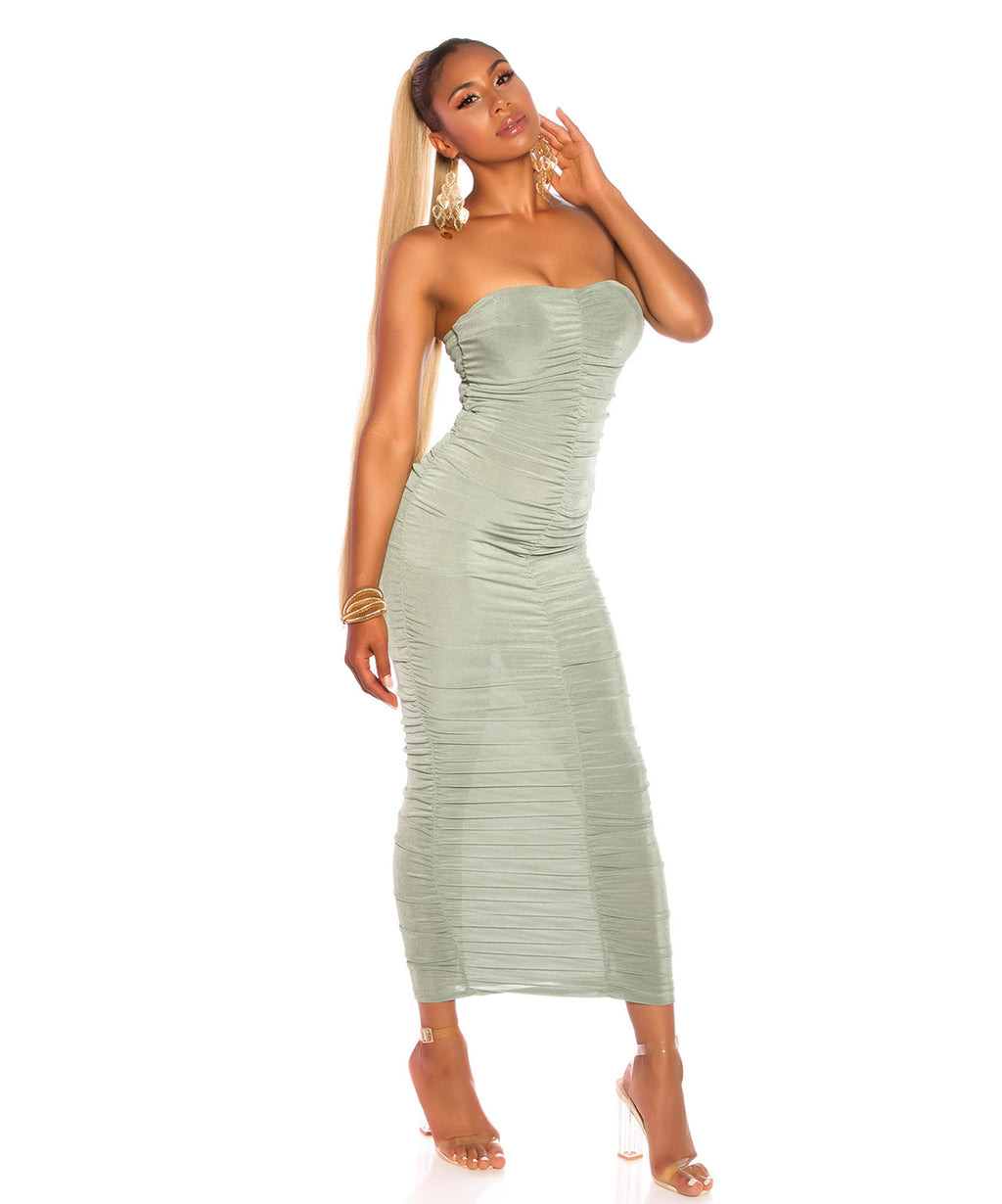 MIDIDRESS GREEN