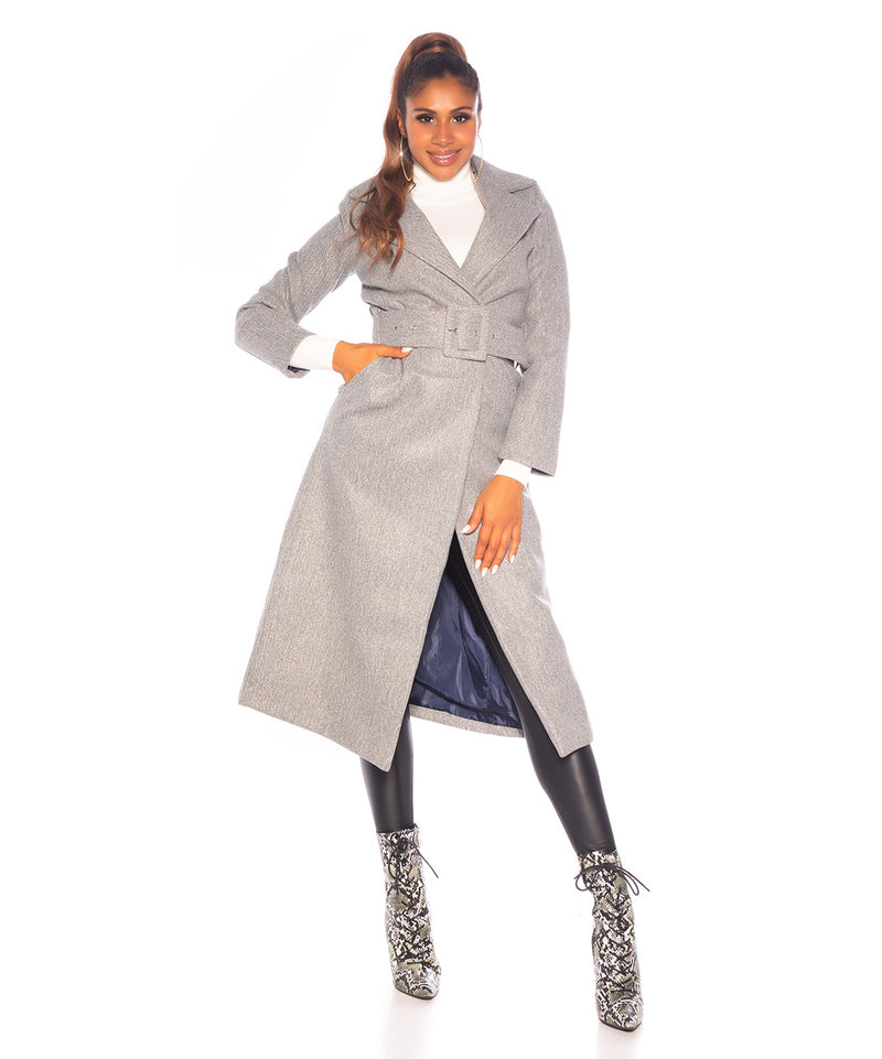 TRENDY COAT GREY