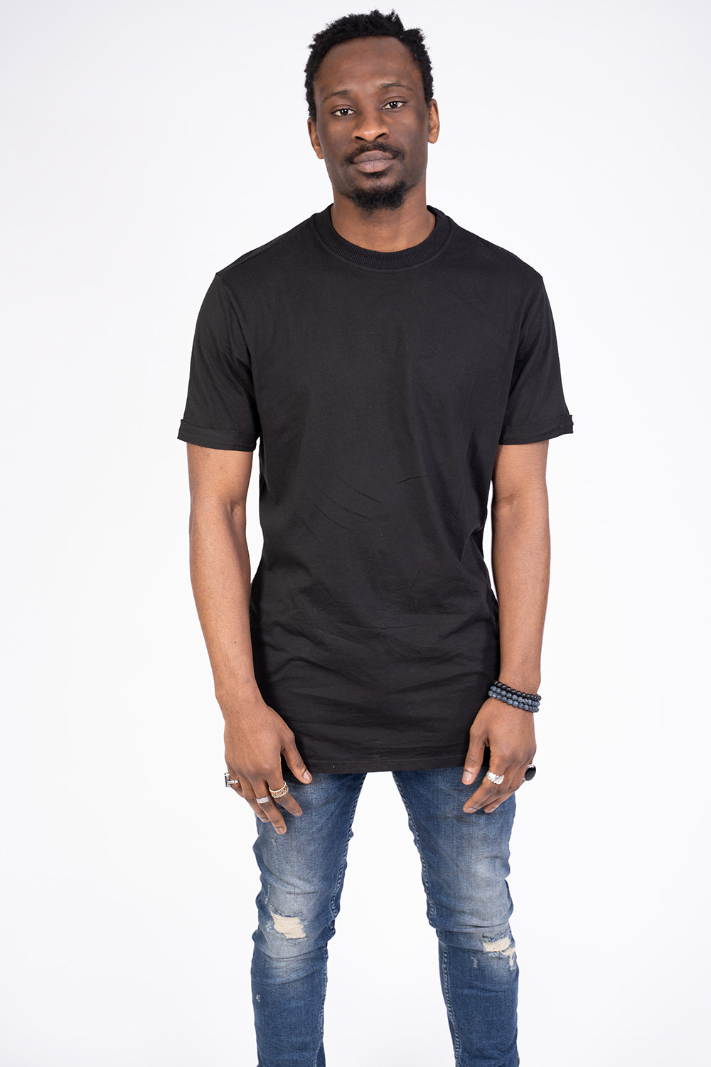 BASIC OVERSIZED T-SHIRT BLACK