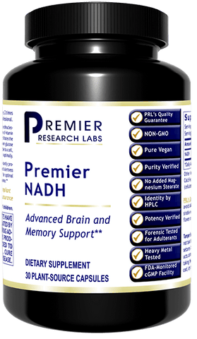 NADH (Premier Brain & Memory Support) 30 Vcaps