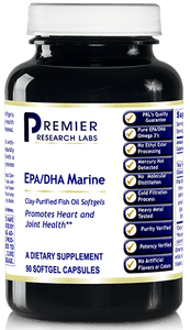 EPA/DHA Marine Softgels (Premier Support for Heart & Joint Health) 90 softgels or 8 fl. oz.