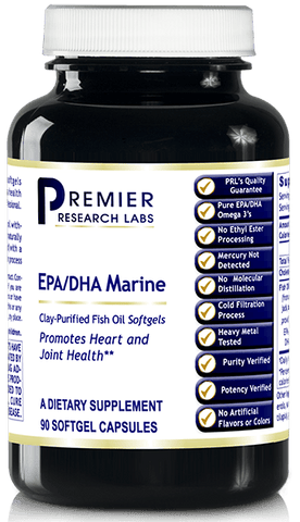 EPA/DHA Marine Softgels (Supports Heart and Joint Health) 90 softgels or 8 fl. oz.