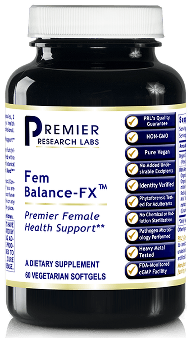 Fem Balance-FX (Premier Female Hormone and Health Support) 60 caps