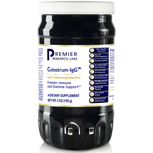 Colostrum-IgG Powder (Premier Immune Support) 60 Vcaps or 5 oz./bottle