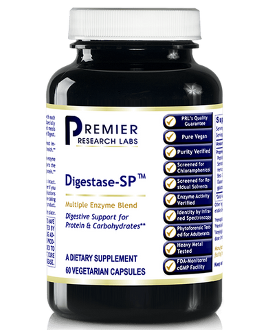 Digestase-SP (Premier Digestive Support for Protein & Carbs) 60 Vcaps